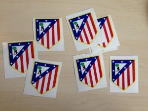 Atlético Madrid Stickers