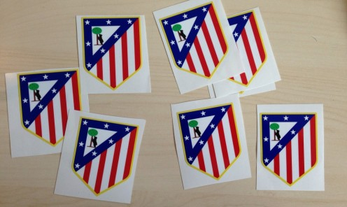 Atlético Madrid Stickers