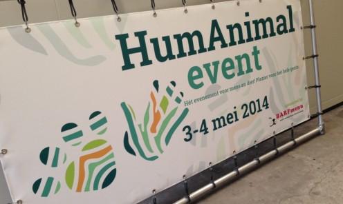 Banner in frame