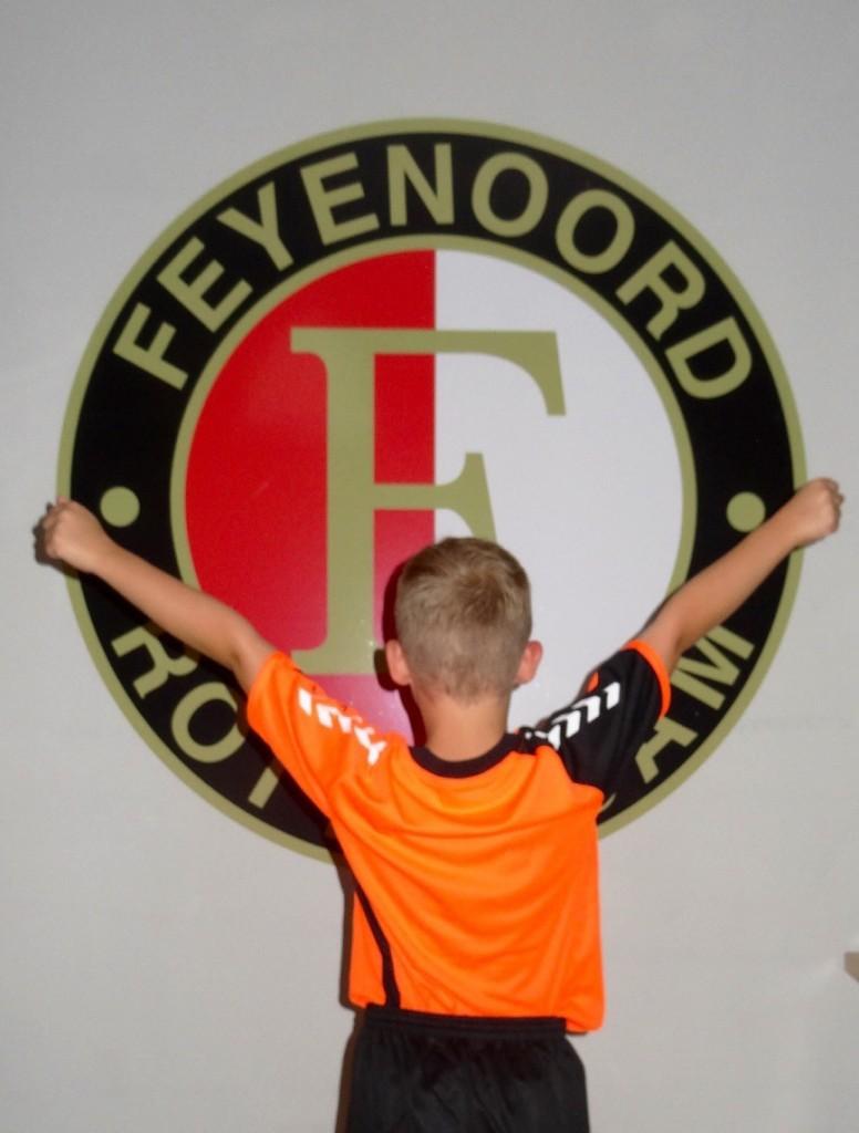 Muurstickers Feyenoord 2016