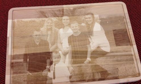 Foto Lasergraveren op hout