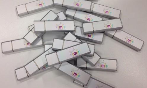 USB sticks <90min. bedrukt