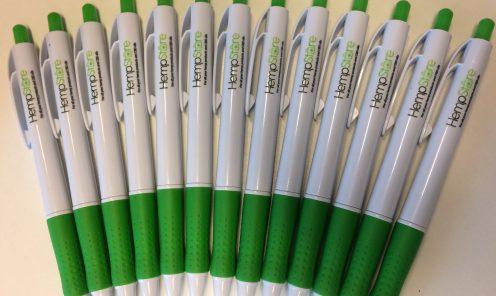 Softgrip pennen 2-kleuren